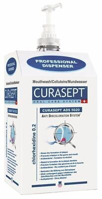 Curaprox Mouth Rinse ADS5020 5 Litres 0.20% Chlorhexidine Oral Mouthwash