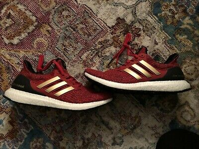9fc53d5f7b101 Adidas Ultra Boost X Game of Thrones House Of Lannister Women s Size 9  EE3710