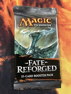 1x Magic the Gathering MTG Fate Reforged New Factory Sealed Booster Pack