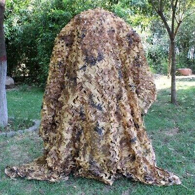 Desert Digital Camouflage Netting Outdoor Army Hunting Camping Camo Net Cover
