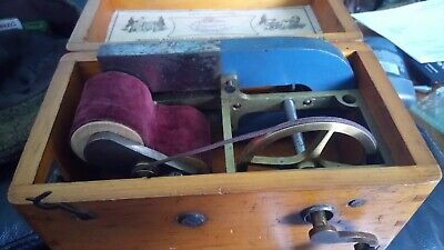 Vintage magneto-driven electric shock machine - quack nerve therapy