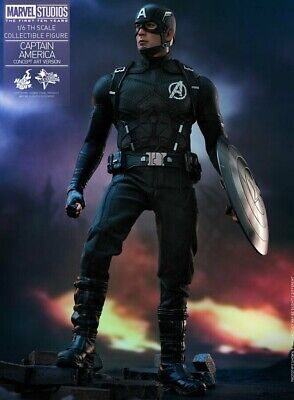 Hot Toys Captain America 1/6 Scale Action Figure Exclusive MMS488