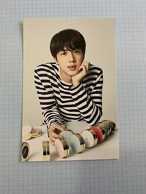 BTS x VT COSMETICS Official New Year Edition JIN Postcard