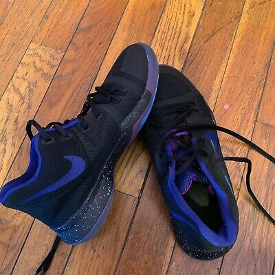 2c624ec0685 Nike Kyrie 3 Gs Flip The Switch Black Deep Royal Blue 859466 003 Us Size  Youth