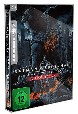 Batman v Superman - Dawn of Justice (Blu-ray Steelbook) MONDO - NEW / SEALED