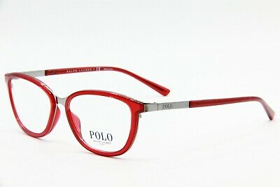 44bc4fa1548d New Polo Ralph Lauren Ph 1166 9314 Red Eyeglasses Authentic Rx Ph1166 53-15