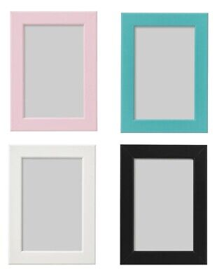 IKEA Photo Picture Frame 13x18cm 5x7 7x5 inch White Pink Blue Black NEW