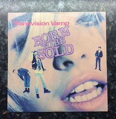 Transvision Vamp Wendy James Born To Be Sold CD Single 4 Tracks  DTVVT9