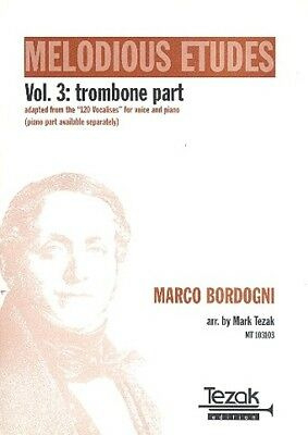 Mark Tezak Verlag Melodious Etudes vol.3 - Trombone Part