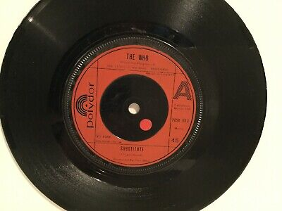 """The Who – Substitute - 7"""" Vinyl Single - 1976"""