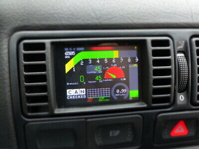 "CANchecked 2.8"" Display VW Golf 4"