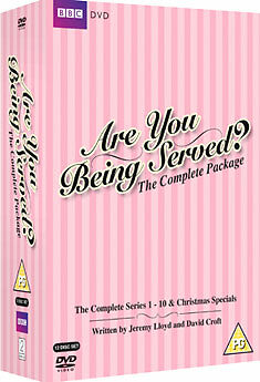 Are You Being Served? Complete Series & Xmas Specials DVD New MINOR BOX WEAR