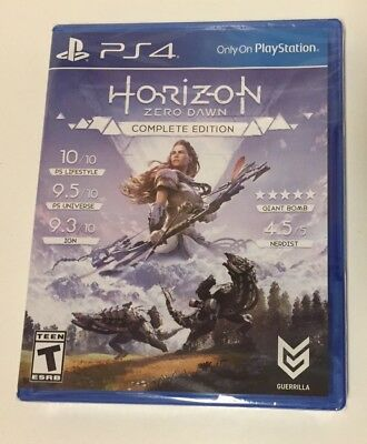 Horizon: Zero Dawn - Complete Edition (Sony PlayStation 4, 2017) PS4 Brand New
