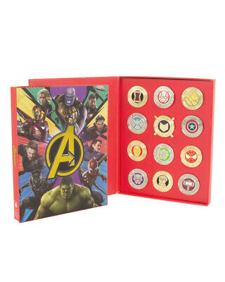 Official Marvel Avengers Pin Badge Set - Damaged Outer Box