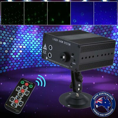 48Pattern Laser Projector Stage Lights Mini LED RGB Lighting Party DJ Disco KTV