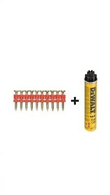 Dewalt DDF6300038 C4&C5 XH Pins 38x3 mm 700pk + Gas Canister New