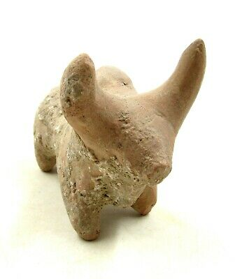 Authentic Ancient Indus Valley Terracotta Bull Idol Figurine - L702