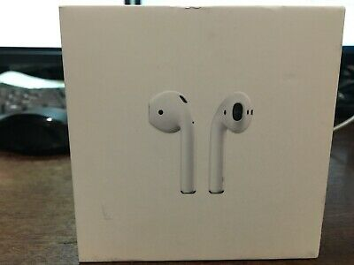 Apple AirPods White InEar Wireless Bluetooth Headsets Genuine W/ Case MMEF2AM/A
