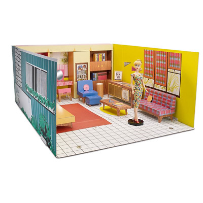 NRFB 2017 Barbie Mattel Dream House 1962 Reproduction Giftset with Blonde Doll
