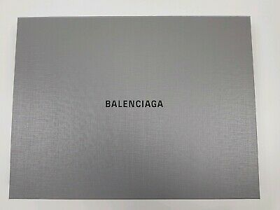 Balenciaga Gift Box 42x32x6cm Designer Luxury Brand Storage Carton Grey