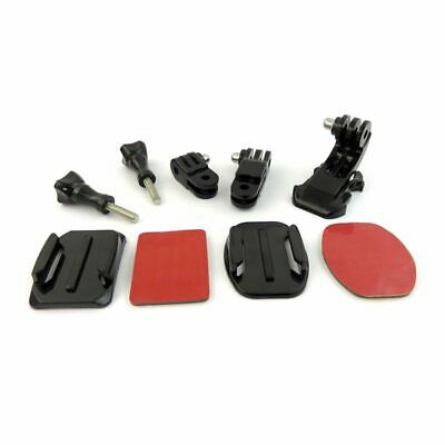 9 in 1 Helmet Front Side Quick Clip Mount Kit for GoPro Hero 6 5 4 3 2 Sess V3I2