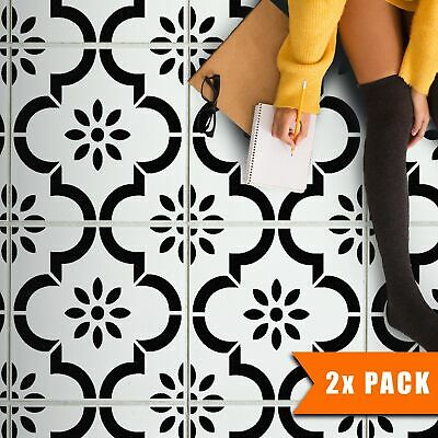 JANNAH Tile Stencil for Painting | Moroccan Geometric DIY Wall Floor Stencil