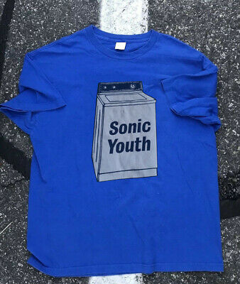 4c6023903 Vintage 90's 1995 Sonic Youth Washing Machine Tour Concert T-Shir New  Reprint