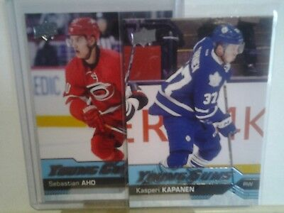 2016-17 UPPER DECK YOUNG GUNS series 1 & 2 & update & canvas YOU PICK FROM LIST