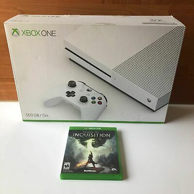 USED - XBOX One Console (500GB) Complete In The Box w/ Game!