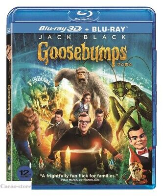 Goosebumps ( 2Disc : 3D + 2D Blu-ray ) / Region A