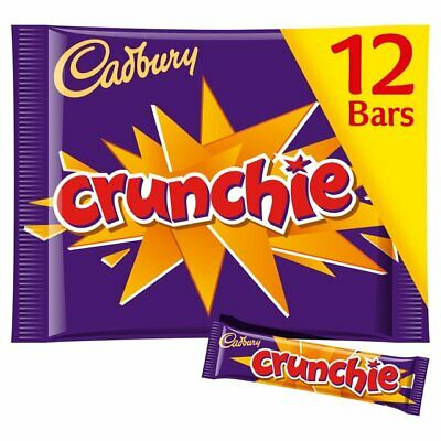 Cadbury Crunchie Bar Treat Size - 12pk