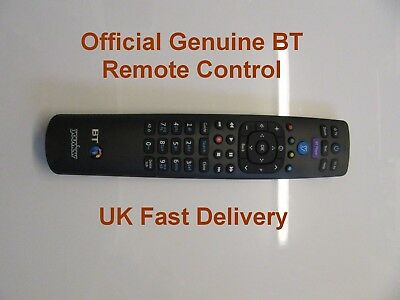 Official Genuine BT YouView Remote Control for Humax BT DTR T1000 UK Seller
