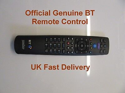 Official Genuine BT YouView Remote Control for Humax BT DTR T1010 UK Seller