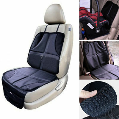 Universal Baby Child Car Seat Saver Anti-slip Protector Cushion Cover Black