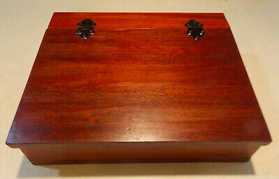 Solid Mahogany Writing Box