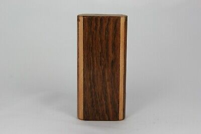 "4"" ChenChi Wood Dugout One Hitter Slide Top With Gold Anodized Aluminum Bat"