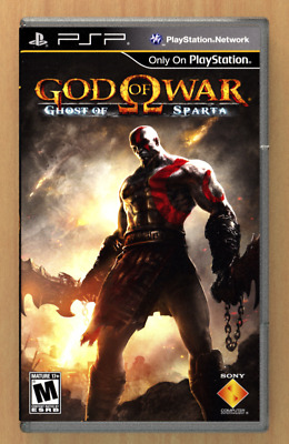 God of War Ghost of Sparta - PSP - Replacement Case *NO GAME*