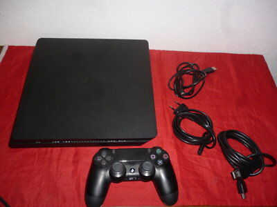 PS4 Console SLIM 500 GB Play Station 4 Nera con V2 _ ITA