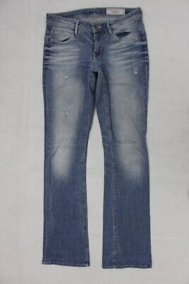 0898b80b0ff13e NEU! EDC BY Esprit Jeans Bootcut Washed-Used-Jeans Damen Play Fit ...