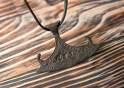 Very Rare Viking Pendant Battle Axe c.9th-11th Century AD Norse Ancient Amulet
