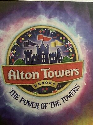 X2 Alton Towers E-tickets ANYDAY In JUNE 2019