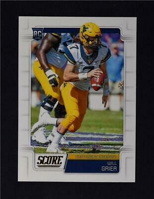 2019 Score Football Base Rookies #333 Will Grier RC