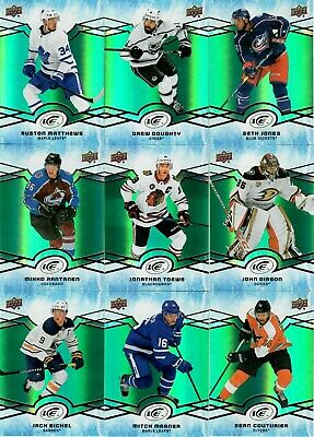 2018-19 Upper Deck Ice Green Base Card  U-Pick From List To Complete Your Set