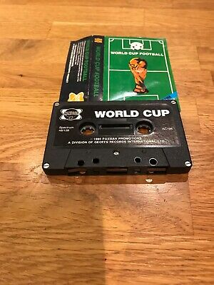 World Cup Football by Artic Computing for the ZX Spectrum.