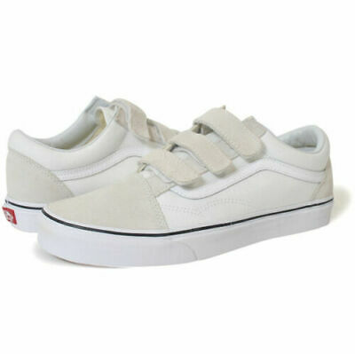 Vans Classic Old Skool Low Velcro Skate Men Shoes Milk Vn0A3D29W00 Size 13 New