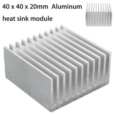 Aluminum Heat Sink For LED and Power IC Heatsink Cooling Cooler Fin 40x40x20mm