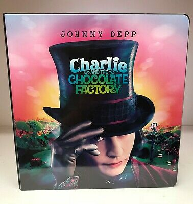 Charlie and the Chocolate Factory - Trading Card Binder / Album & Promo Cards