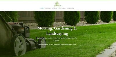 Ready Made Website Start A Lawn Mowing Business Home Business Opportunity