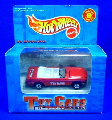 Hot Wheels Toy Cars & Vehicles '65 Mustang Redline Special Edition