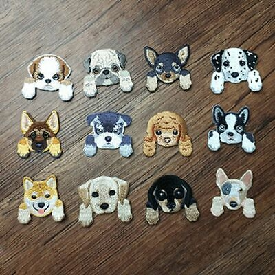SHIBA INU PUPPY Dog (Iron on) Embroidery Applique Patch Sew